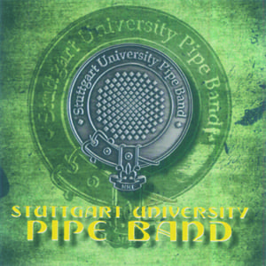 CD Cover - Stuttgart University Pipe Band